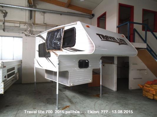 Bílauppboð is - Uppboðsvefur | Travel Lite 700 2015 Pallhús